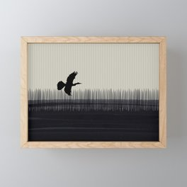 Anhinga Florida Everglades Framed Mini Art Print