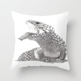 Bobtail - King of the Road Throw Pillow