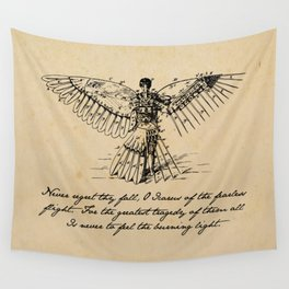 Oscar Wilde - Icarus Wall Tapestry