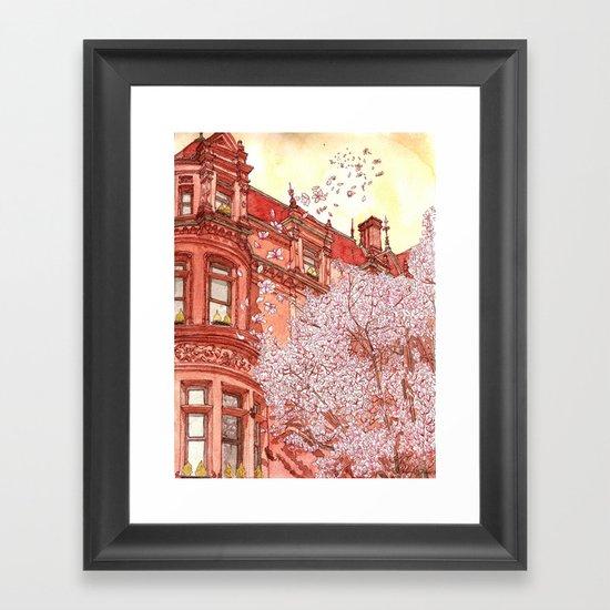 Bostonia Framed Art Print