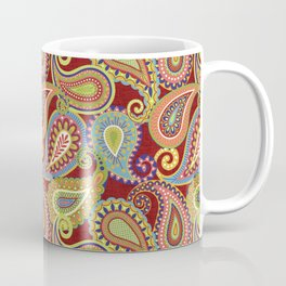 Crazee Paisleez Coffee Mug