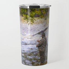 Trout fishing Travel Mug