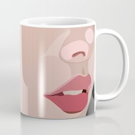 up close lips Coffee Mug