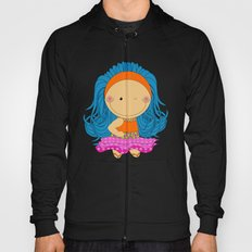 Happy Tuesday! - Fun, sweet, unique, creative and colorful, original,digital children illustration Hoody