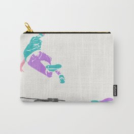 skateboarding 2 (lost time, risograph) Carry-All Pouch