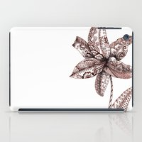 henna iPad Cases featuring Henna Lily by Elisa Camera