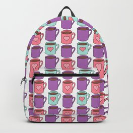 Coffee Lover - Doodle Pattern Backpack