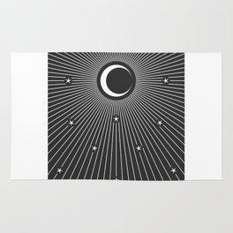 Minimal Tarot Deck The Moon Rug