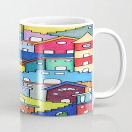 Crazy Houses Coffee Mug