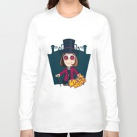 willy wonka Long Sleeve T-shirts featuring Willy Wonka by 7pk2 online