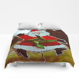 Santa greetings Comforters