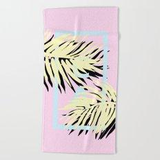 Cali pink Beach Towel