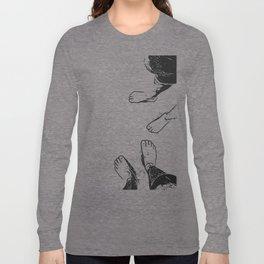 Feet on the sand Long Sleeve T-shirt