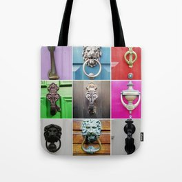 knock knock A Tote Bag
