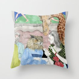 THE LOSS OF WONDER Throw Pillow