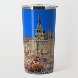 Autumn Shades of Mont Saint-Michel Travel Mug