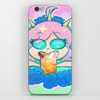 pastel goth iPhone & iPod Skins featuring follo 4 more ~*pastel goth*~ by Ceebs
