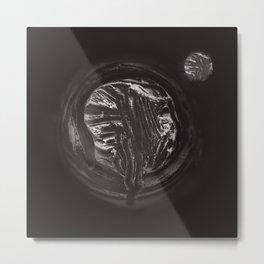 Curd tree and moon Metal Print