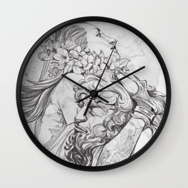 We,The Forest Folk Wall Clock
