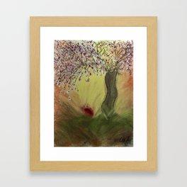 Cherry Blossom Tree of Mine, Our Rising Sun Framed Art Print