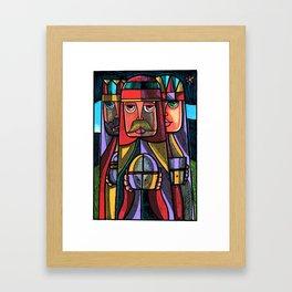 TRES REYES MAGOS 2012 Framed Art Print