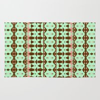oasis Area & Throw Rugs featuring Oasis #4 by Ornaart