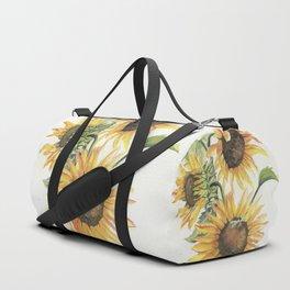 Sunny Sunflowers Duffle Bag