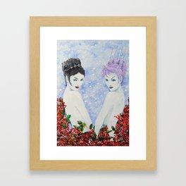Spirits of Winter 3 Framed Art Print