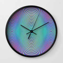 Play with stripes  1 Wall Clock