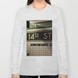 14th Street Station Long Sleeve T-shirt
