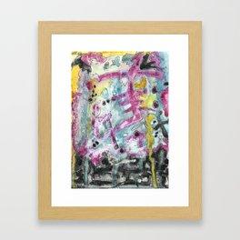 Abstract Art - Moving Framed Art Print