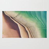 dune Area & Throw Rugs featuring Dune by Jellyfishtimes