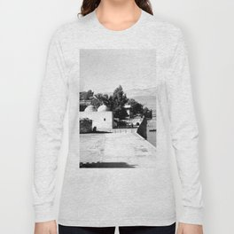 The lakefront at Galilee. Tiberias. 1945 Long Sleeve T-shirt