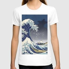 Great Wave: Kanagawa Night T-shirt
