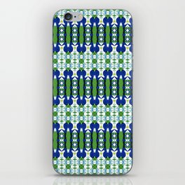 Blue and Green Calm iPhone Skin