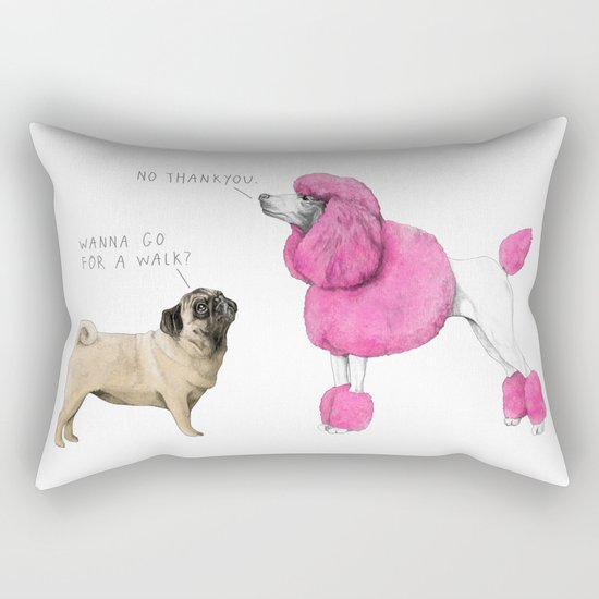 Rejected. Rectangular Pillow
