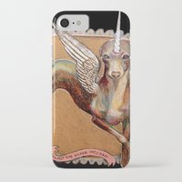 kermit iPhone & iPod Cases featuring Kermit the Silver Unicorn by Emily A Robertson