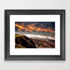 Possessed Ocean Framed Art Print