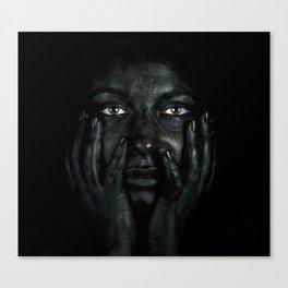 Black 03 Canvas Print