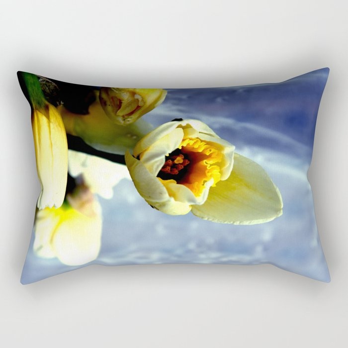 only nature is perfect Rectangular Pillow