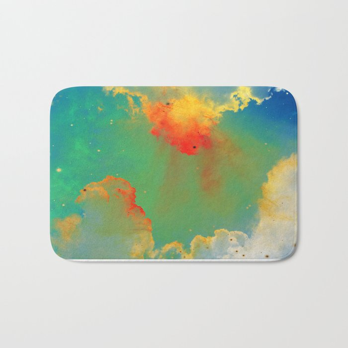 Goldfishes of the Universe Bath Mat