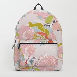blush roses Backpack