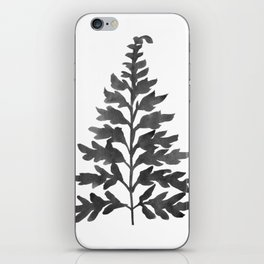 Black Fern iPhone Skin