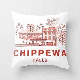 Chippewa Falls Throw Pillow
