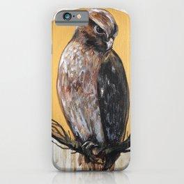 Hawk Vision // Bird Raptor Eagle Feather Wing Sun Spirit Animal iPhone Case