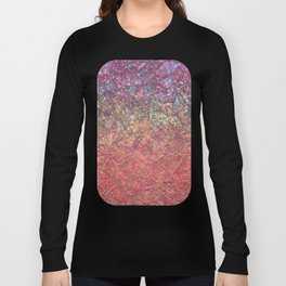 Sparkley Grunge Relief Background G179 Long Sleeve T-shirt