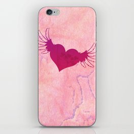Winged Heart iPhone Skin