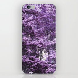 Infrared Trees Forest iPhone Skin