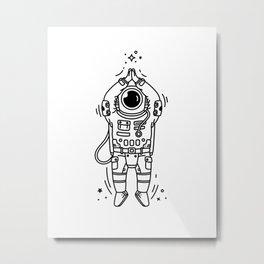 Cosmic Stranger 2 Metal Print