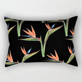 Bird of paradise flowers patten Rectangular Pillow